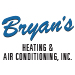 Website for Bryan's Heating & Air Conditioning, Inc.