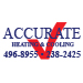 Website for Accurate Heating & Cooling, Inc.