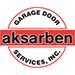 Website for Aksarben Garage Door Services, Inc.