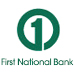 Website for First National Bank