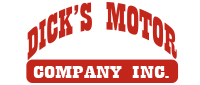 Website for Dick's Motor Company, Inc.