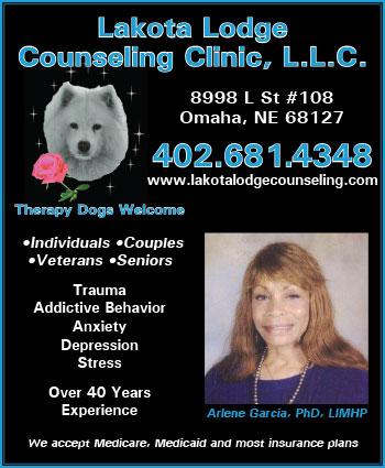 Website for Lakota Lodge Counseling Clinic, LLC