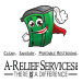 Website for A-Relief Services, Inc.