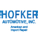 Website for Hofker Automotive, Inc.