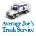 Website for Average Joe's Trash Service