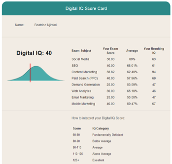 digital-iq-sample-scorecard