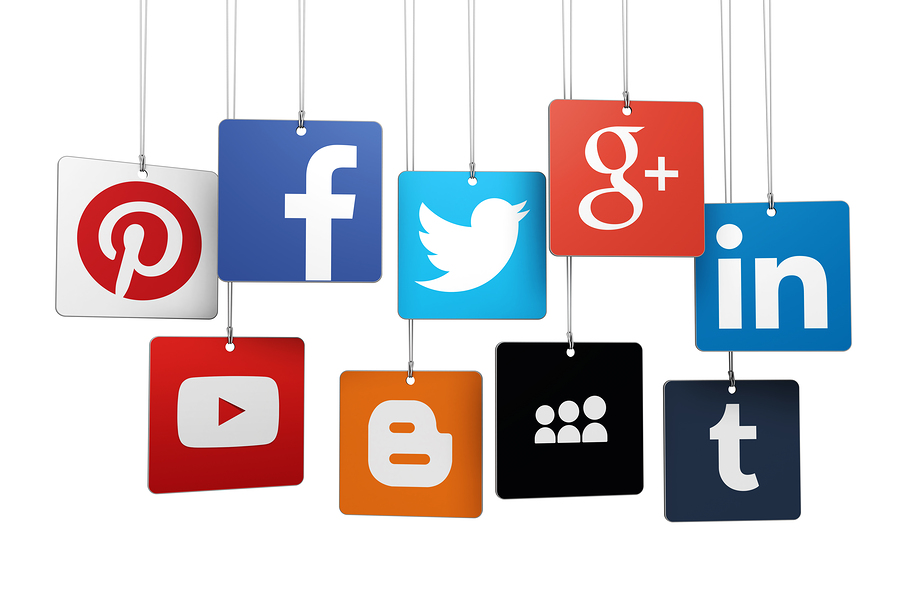 t logo social media