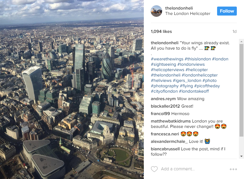 The London Heli Instagram