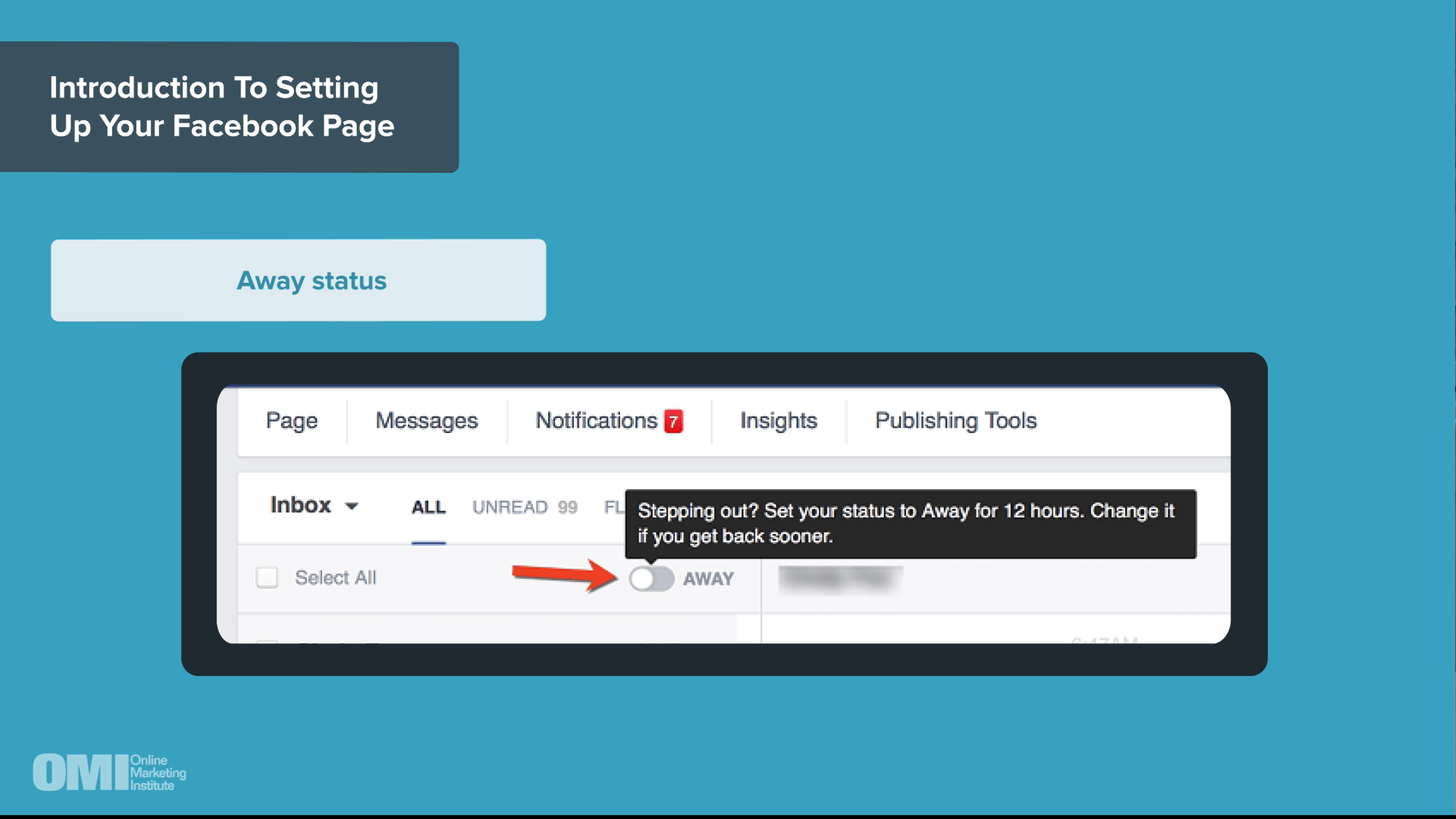 Facebook: How to Setup your Page