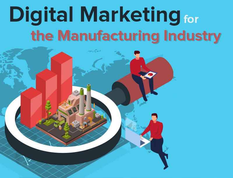 Infographic: Digital Marketing for The Manufacturing Industry post image
