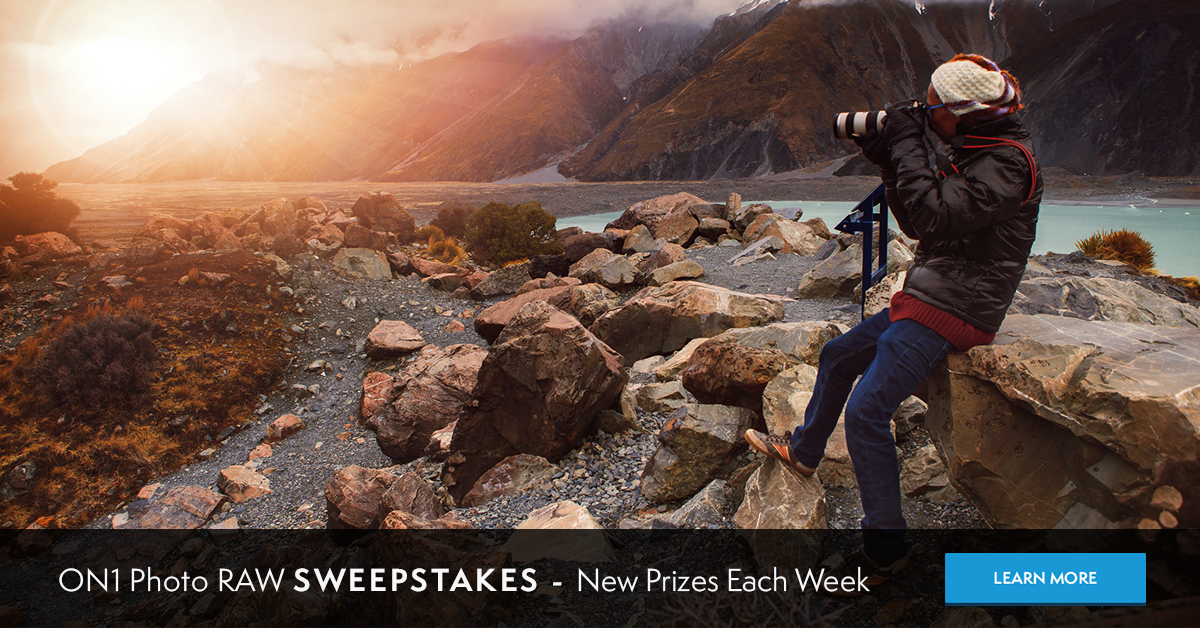 ON1 Photo Raw Pre-Sale and Sweepstakes
