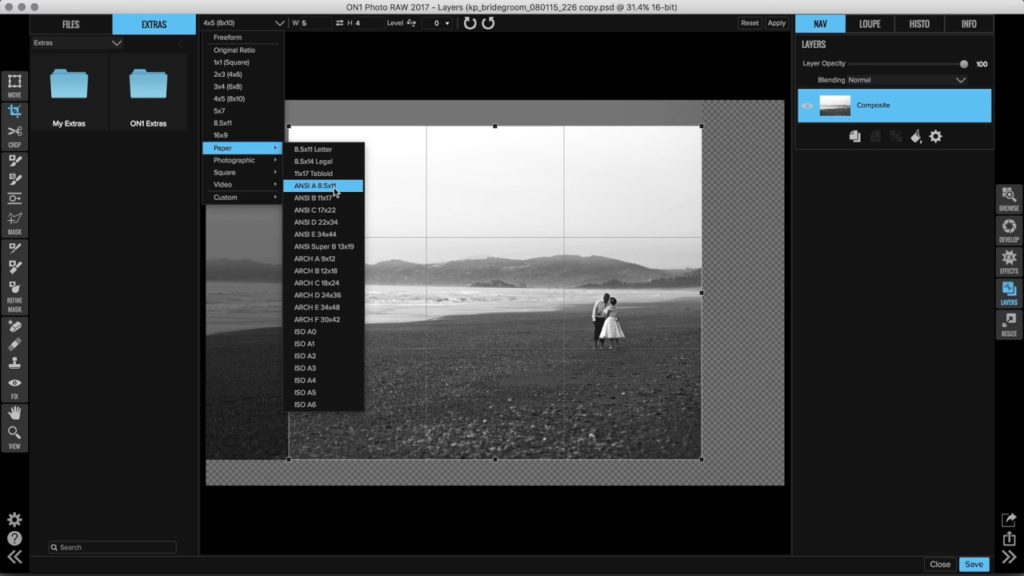 Straighten, Resize and Crop Your Photos – ON1