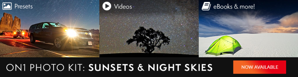 Partner Spotlight: Free Presets – Sunsets and Night Skies