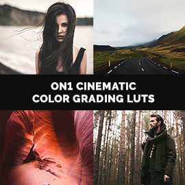 ON1 Cinematic Color Grading LUTs – ON1