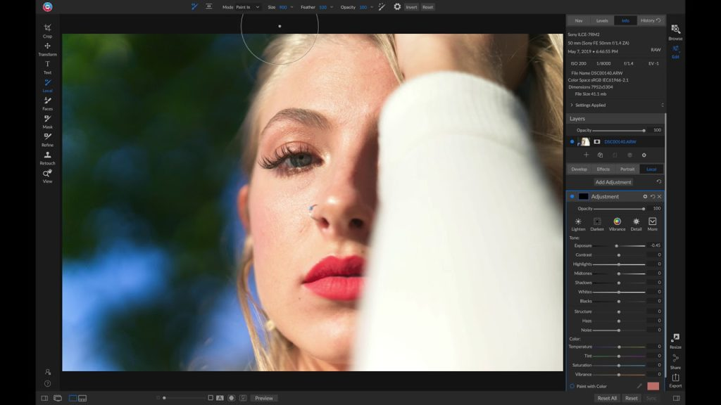Adobe Camera RAW for Beginners: Adjustment Brush - YouTube