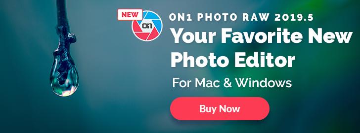 ON1 Photo RAW 2019.5 – $49.99!
