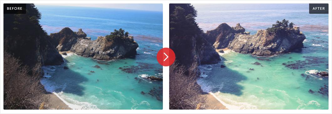 Contrastly Big Sur Lightroom Presets