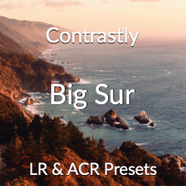 Contrastly Big Sur Lightroom and Adobe Camera RAW Presets