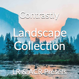 Contrastly Landscape Collection Lightroom and Adobe Camera RAW Presets