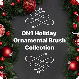 ON1 Holiday Ornamental Brush Collection
