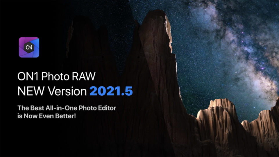 ON1 Photo RAW 2021.5 Announce