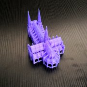 Gothic Cathedral Single Platform