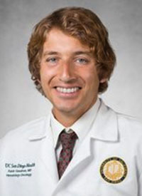 Aaron Goodman, MD, a hematologist and medical oncologist at the University of California, San Diego (UCSD) Health.