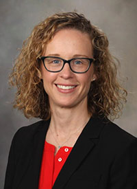 Carrie L. Langstraat, MD, a gynecologic oncologist at Mayo Clinic