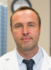 Kieron Dunleavy, MD, a professor of medicine, director of the Lymphoma Program, and co-director of the Microbial Oncology Program in the Division of Hematology and Oncology at the George Washington University Cancer Center