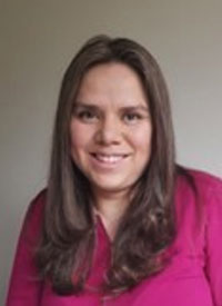 Karen Pinilla Alba, MD, a medical oncologist and clinical research fellow at the University of Cambridge