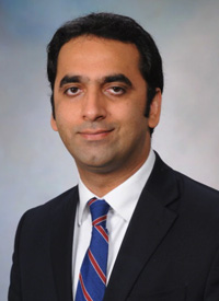 Pashtoon M. Kasi, MBBS, MD, MS, a medical oncologist and assistant professor at the Carver College of Medicine at the University of Iowa