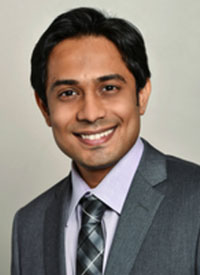 Kaushal Parikh, MD, MBBS, a medical oncologist in the Division of Thoracic Oncology and Early Therapeutics at Hackensack University Medical Center