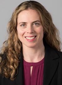 Rebecca L. Olin, MD, MSCE, associate professor in the Department of Medicine at the University of California, San Francisco, Helen Diller Family Comprehensive Cancer Center