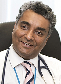 Sanjay Popat, BSc MBBS FRCP PhD, consultant medical oncologist at The Royal Marsden NHS Foundation Trust, Seattle Cancer Care Alliance