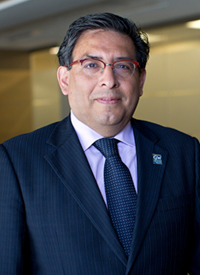 Eduardo Sotomayor,MD, professor of medicine, Department of Hematology and Oncology, and director, GW Cancer Center