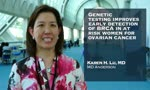 Genetic testing improves early detection of BRCA in at risk women for ovarian cancer #SGOmtg