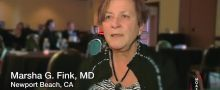 Dr. Marsha Fink, MD Talks about Skin Cancer and Melanoma comparing chemoimmunotherapy to immunotherapy alone, utilizing biochemotherapy regimen, DDIC, cisplatin, L2 iand interferon alpha,