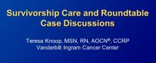 Practical Challenges in Maintenance Therapy for NSCLC: A Nursing Perspective Part 3