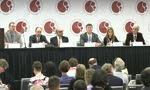 ASH 2014: Dr Brad Kahl chairs a question and answer session at a press conference during the 2014 ASH Annual Meeting