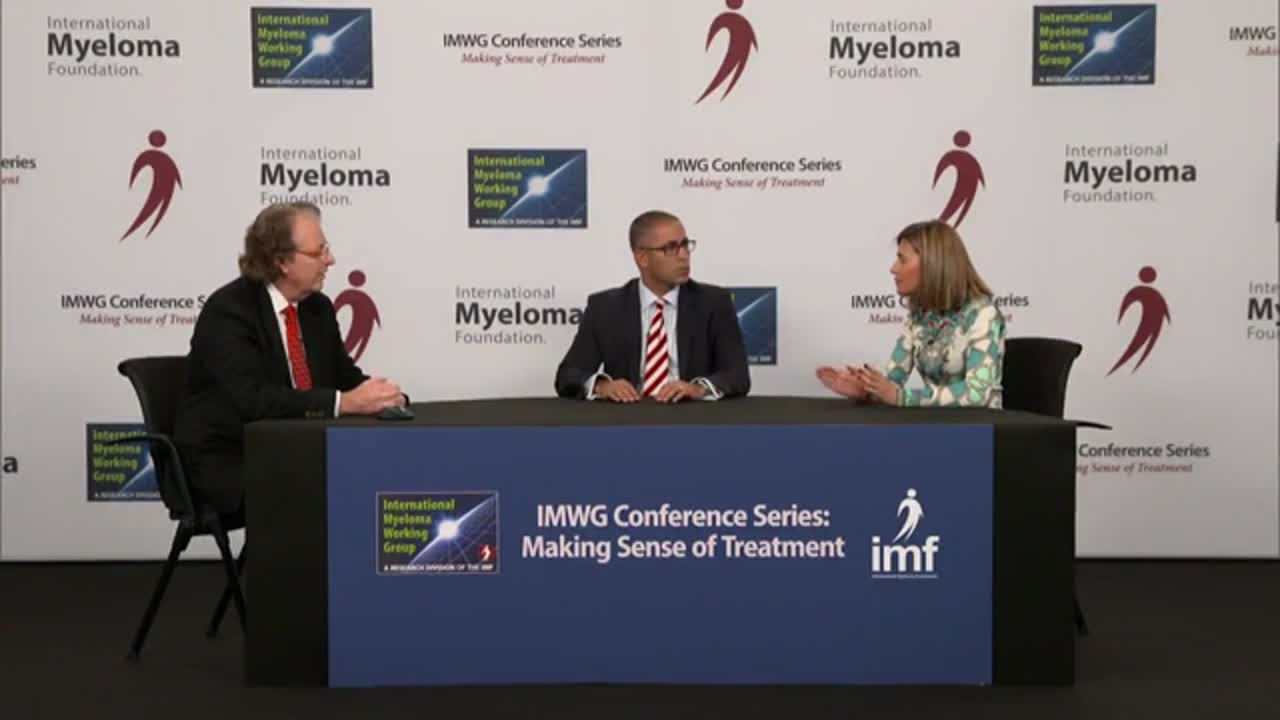 IMWG Conference Series - Copenhagen 2016- How do you use MRD testing?