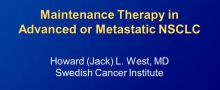 Practical Challenges in Maintenance Therapy for NSCLC: A Nursing Perspective Part 2