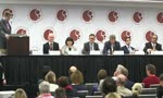 ASH 2014: Dr David Steensma chairs a question and answer session at a press conference during the 2014 ASH Annual Meeting