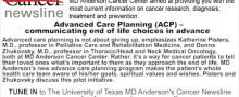 Advanced Care Planning (ACP) – communicating end of life choices in advance