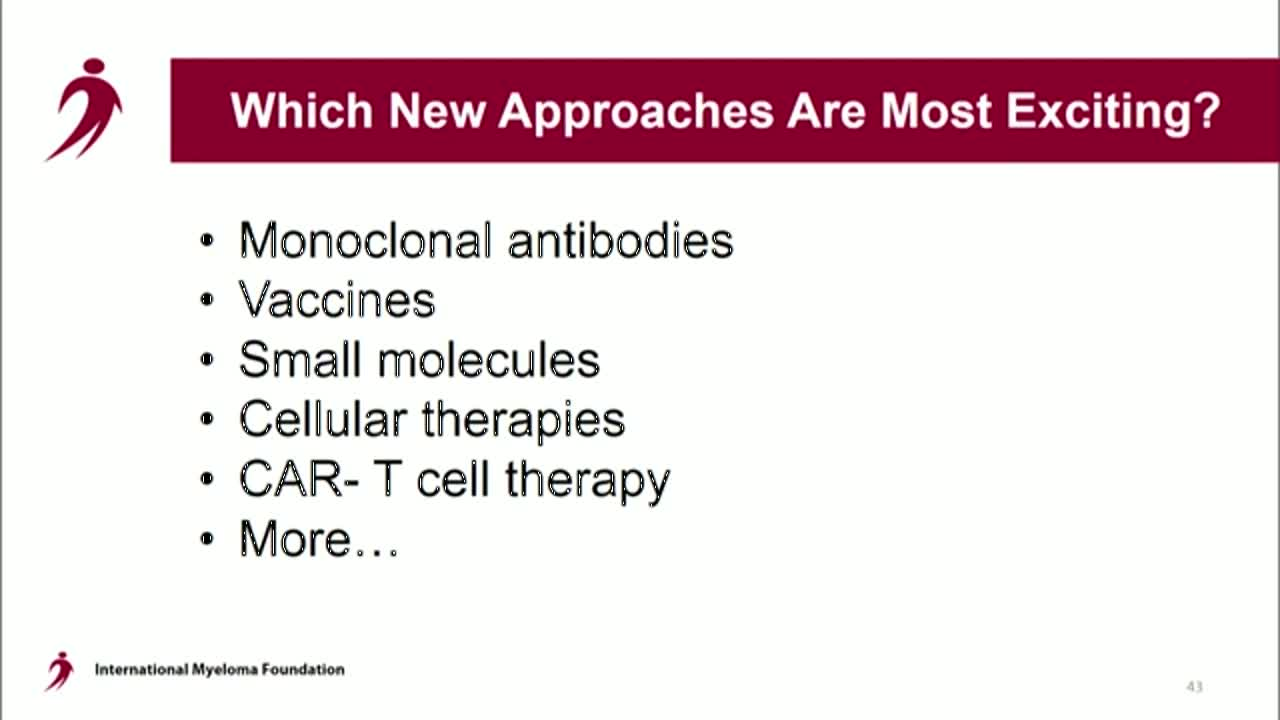 IMWG Conference Series - Copenhagen 2016- How do you sequence new therapies?