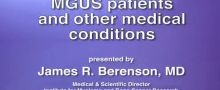 MGUS patients and other medical conditions