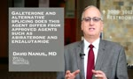 Galeterone and alternative splicing does this agent differ from approved agents such as abiraterone and enzalutamide