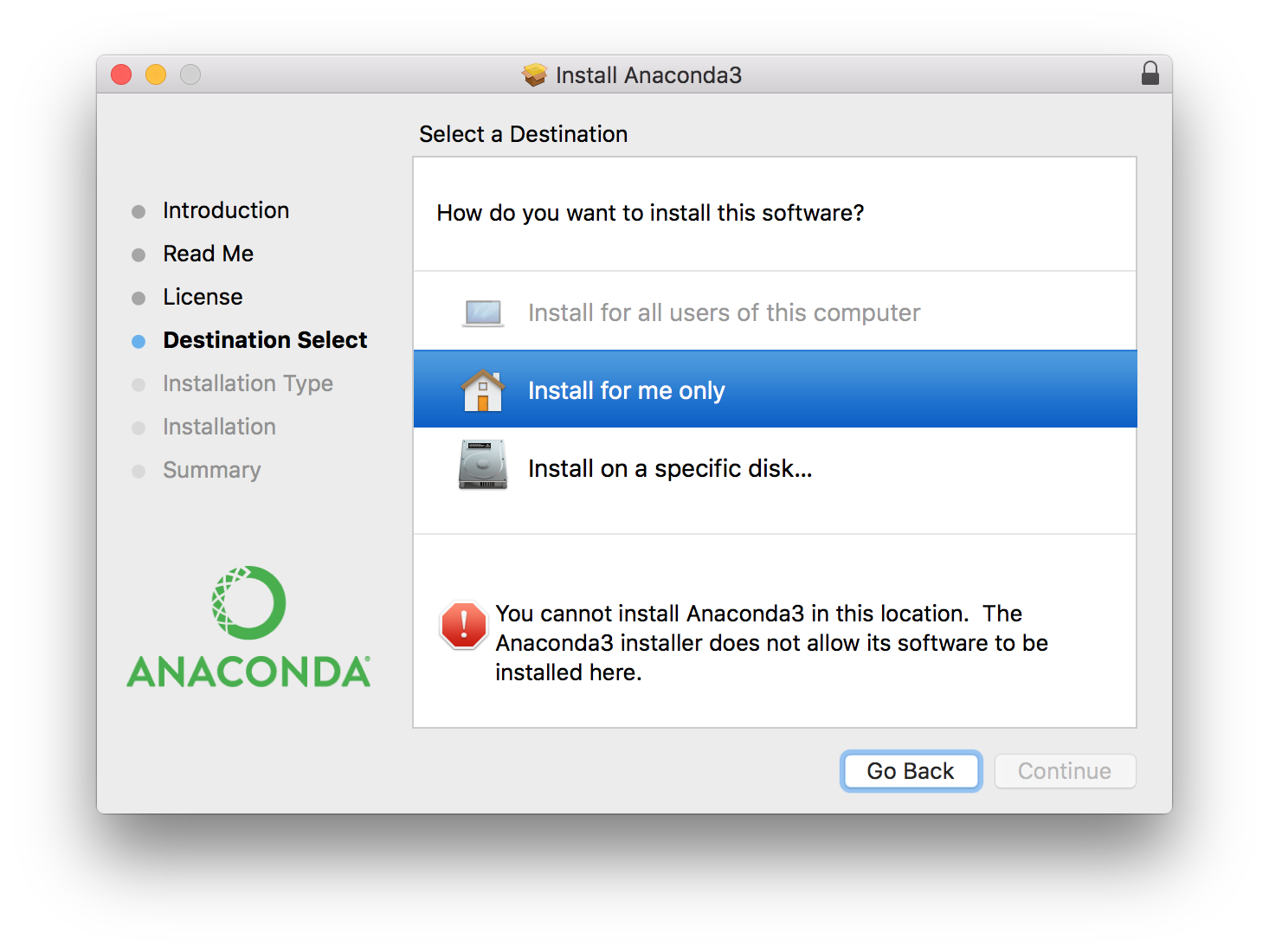 python-installatin-error