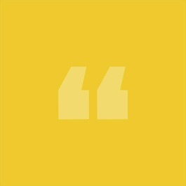 Quote marks yellow large %281%29