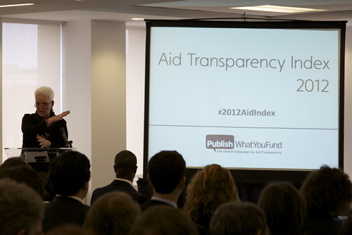 US Performance in the 2012 Aid Transparency Index: Who Deserves a Gold Star?