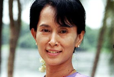 Submit a question to Aung San Suu Kyi